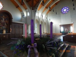 Advent wreath and altar II
